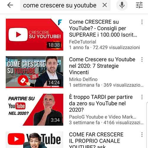 aumentare iscritti canale YouTube